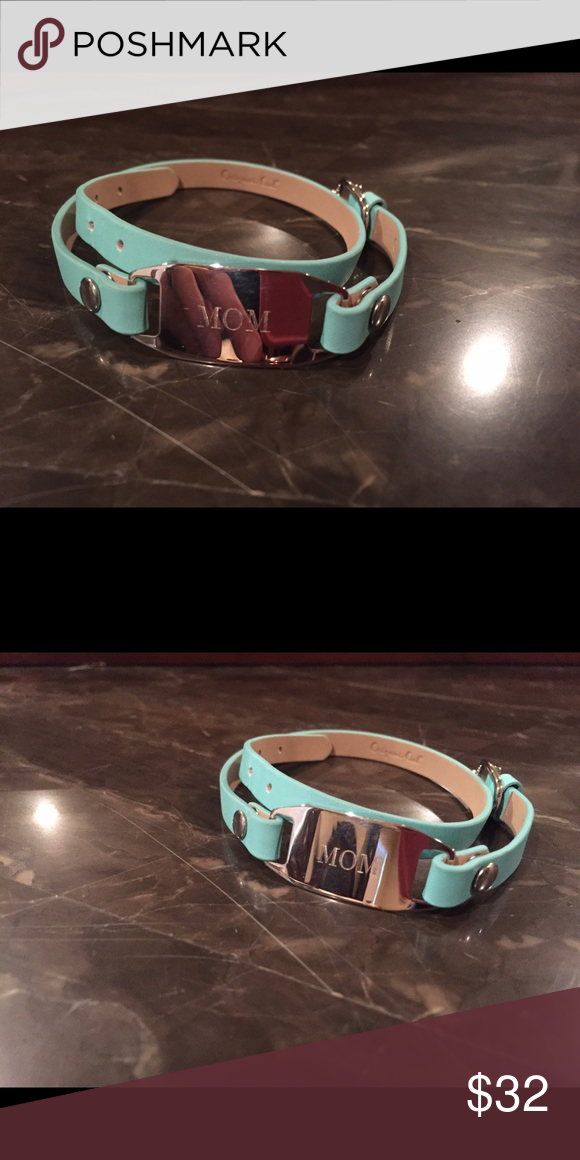 Origami Owl Wrap Bracelet With Mom Slider Plaque Nwt Origami Owl