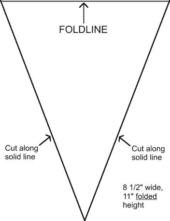 0283 Diagram 1 Pattern 1 Png Image Diy Pennant Banner