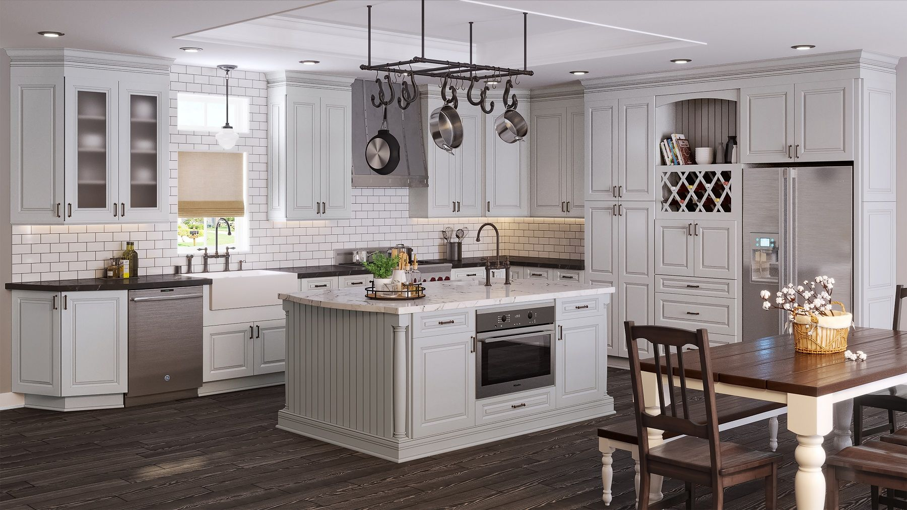 Lakewood Stone Ready To Assemble Kitchen Cabinets The Rta Store In 2020 Buy Kitchen Cabinets Online Kitchen Cabinets Grey Kitchen Cabinets