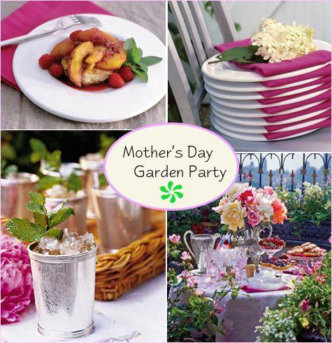 Mother S Day Garden Party Garden Party Mothers Day Garden Party Recipes