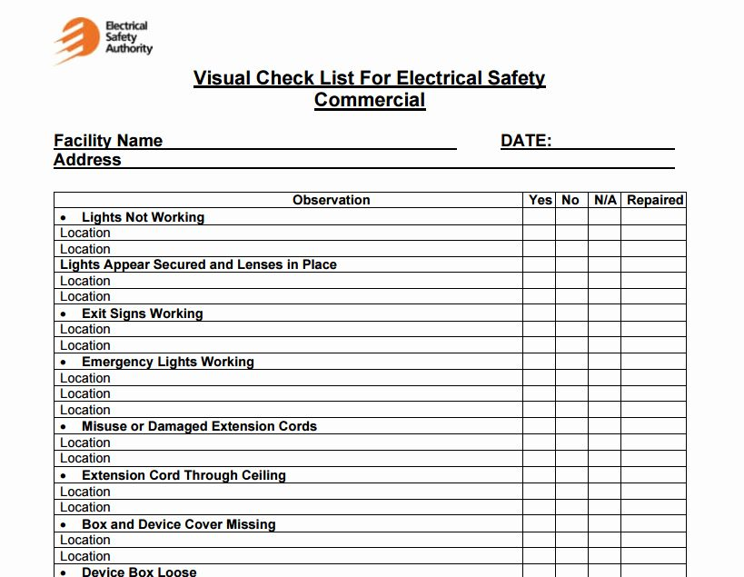 Facility Maintenance Schedule Excel Template New 4 Facility Maintenance Checklist Templates Excel Xlts Checklist Template Schedule Template Excel Templates