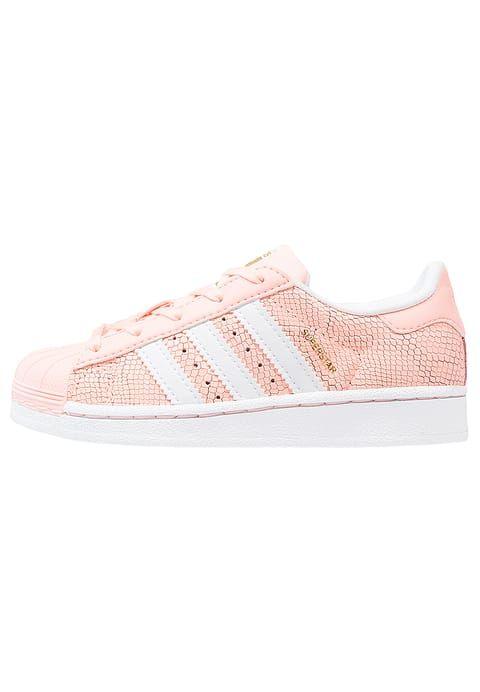 Schoenen adidas Originals SUPERSTAR REPTILE C - Sneakers laag - haze coral/white  Coraal: