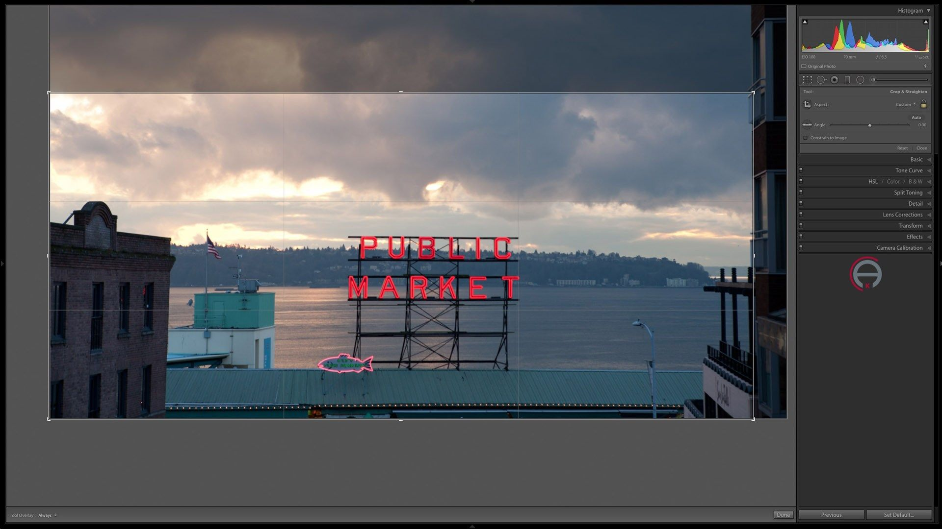 Cropping to different ratios in Lightroom Lightroom