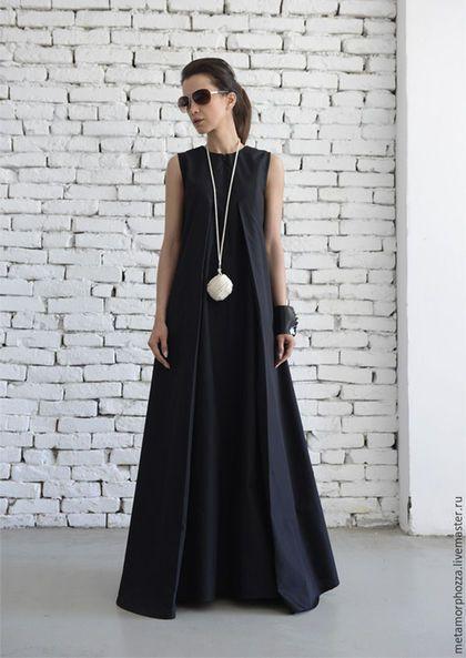 226ef5f538b Купить или заказать Черное платье в пол