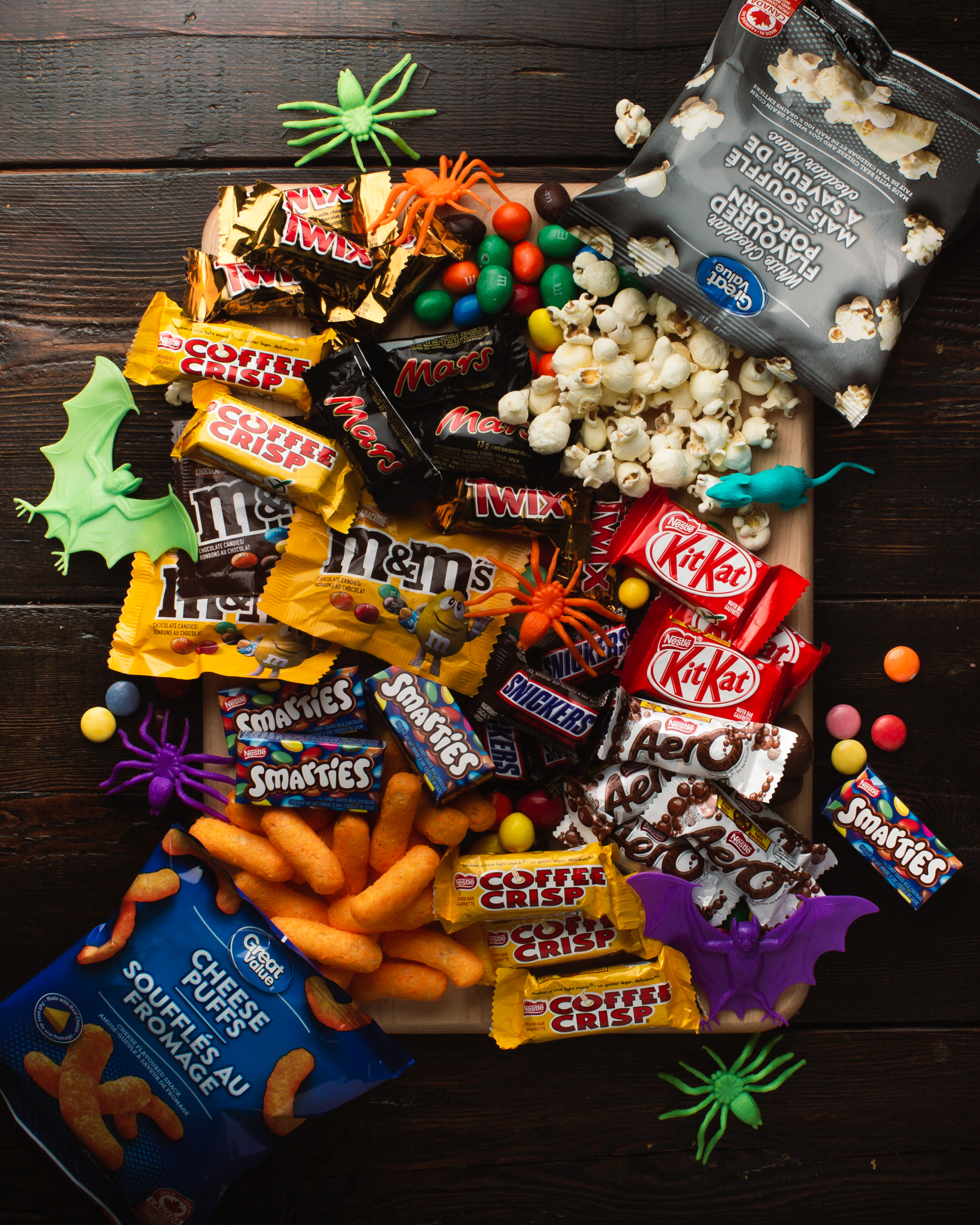 The only thing scarier than Halloween, is an empty candy