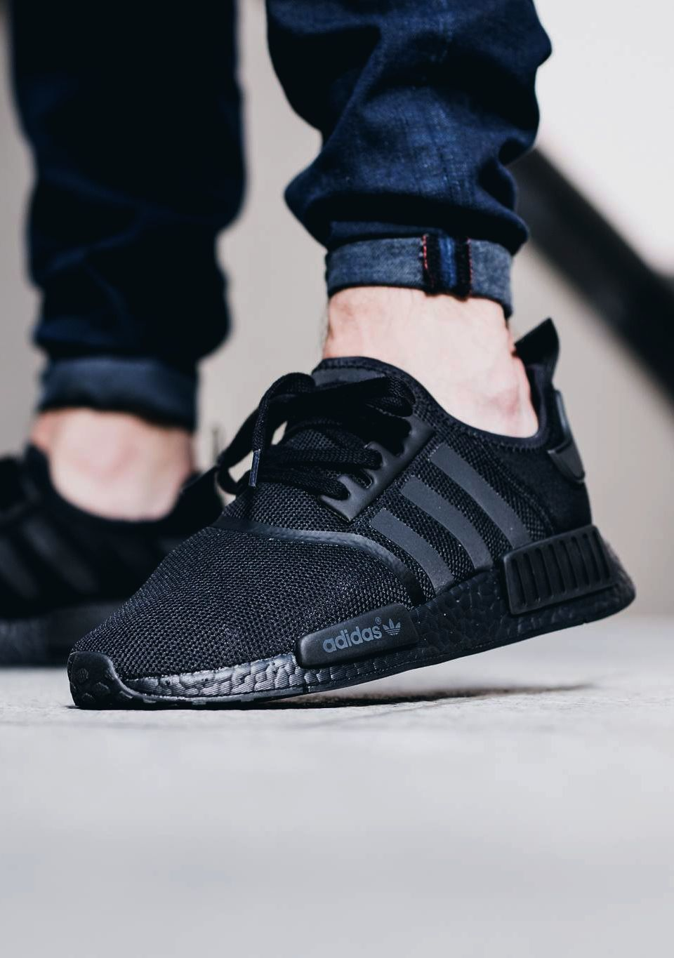 huge discount 16983 6de14 adidas NMD R1 Triple Black sneakernews Sneakers StreetStyle Kicks