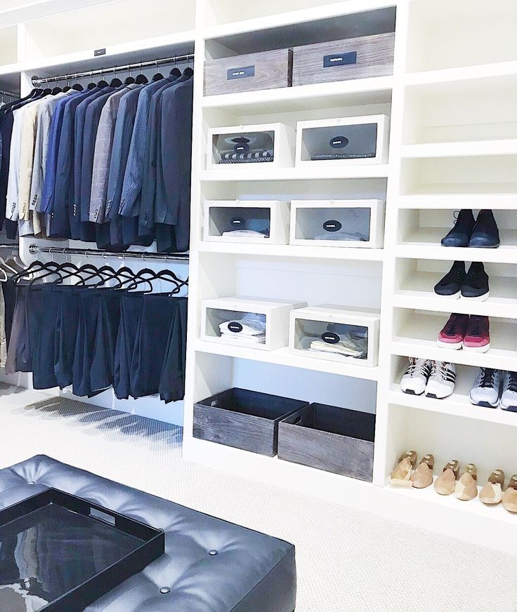 NEAT Method- closets, closet ideas, closet storage, closet design ...