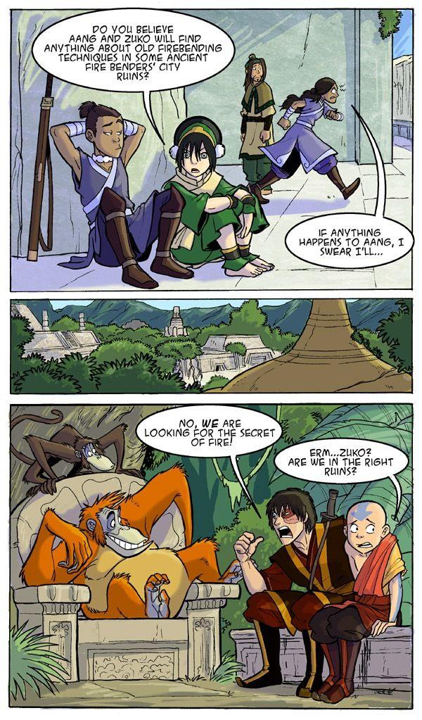 Ha jungle book reference | last airbender/Legend of Korra ...