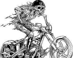 Resultado de imagen de Coloring book harley davidson   moto ...