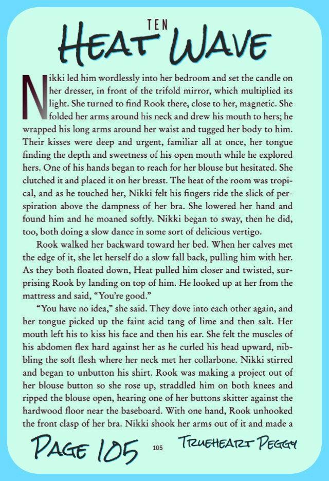 PAGE 105: STEAMY; Y, HEAT WAVE EXCERPT | Nikki Heat