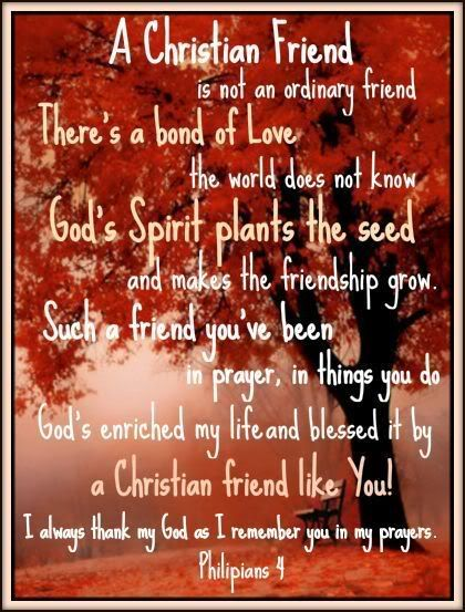 Friendship  Christian   Graphic Image and Friendship  Christian