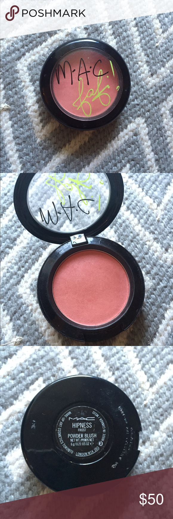 💋 Fafi for MAC 💋 Hipness Blush LE Used only twice. MAC Cosmetics Makeup Blush