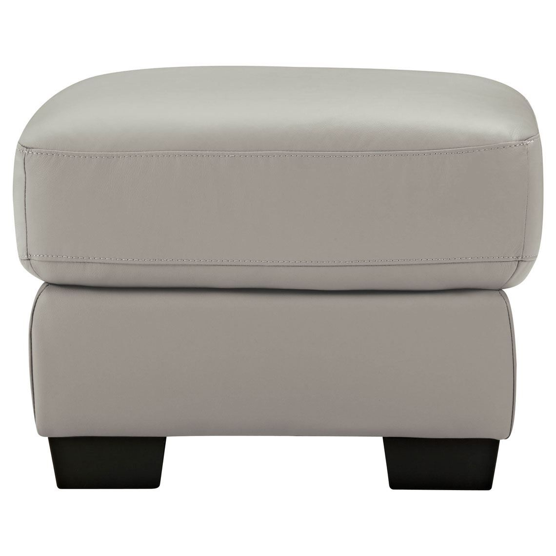 Lucas Leather Ottoman Leather Ottoman Ottoman Seat View