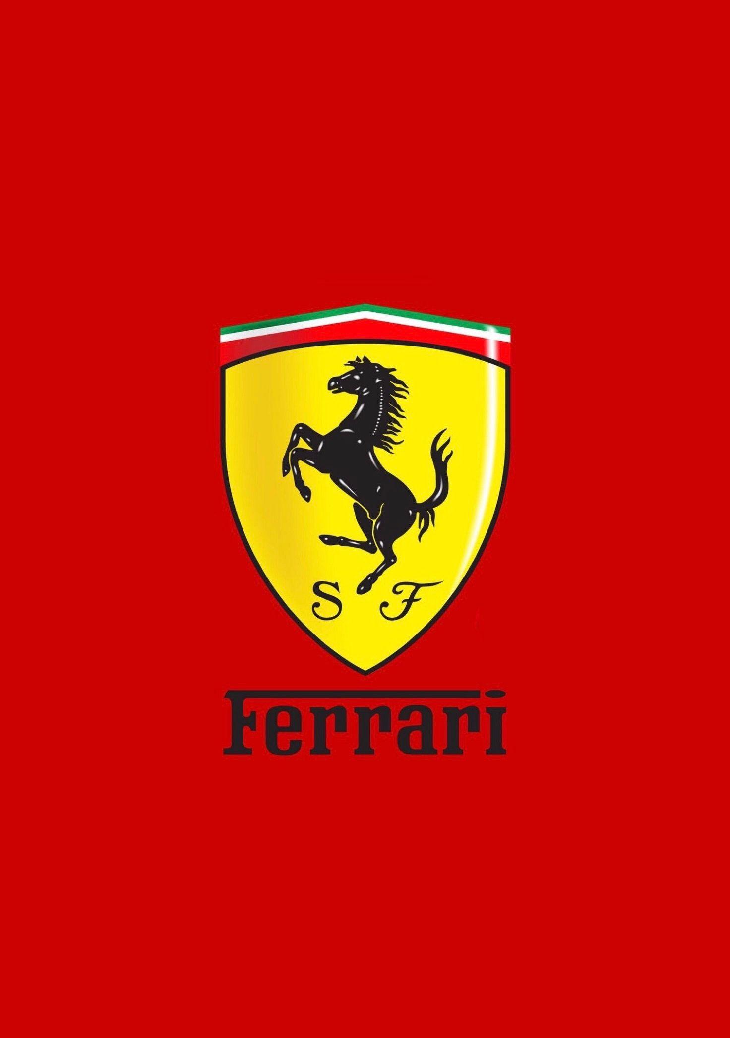 ferrari logo wallpaper wallpaper
