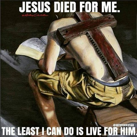 Jesus Redeemed Your Sins He Died For You The Least You Can Do Is Live A Life Full Of Goodness Carry His Name And Liv Christ Quotes Jesus Jesus Christ Quotes