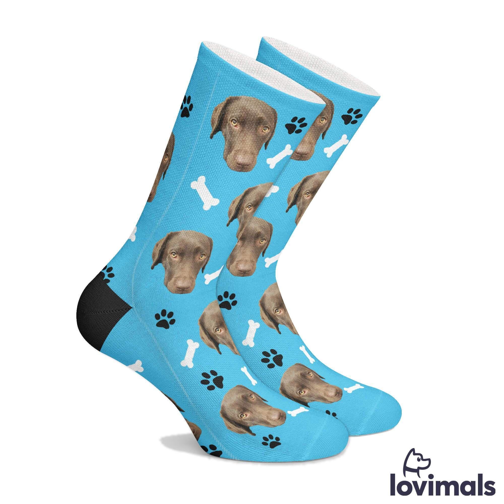 LOVIMALS Your Dog On Socks in 2020 Dog socks, Socks