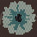 Bonsoir, pour celles qui l'ont aimé, le schéma du serti DEXTER est maintenant disponible http://centperles.fait-maison Petit cadeau pour...