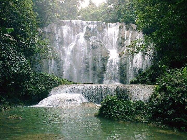 Kandawu Waterfall at  Lambusango Forest - Indonesia