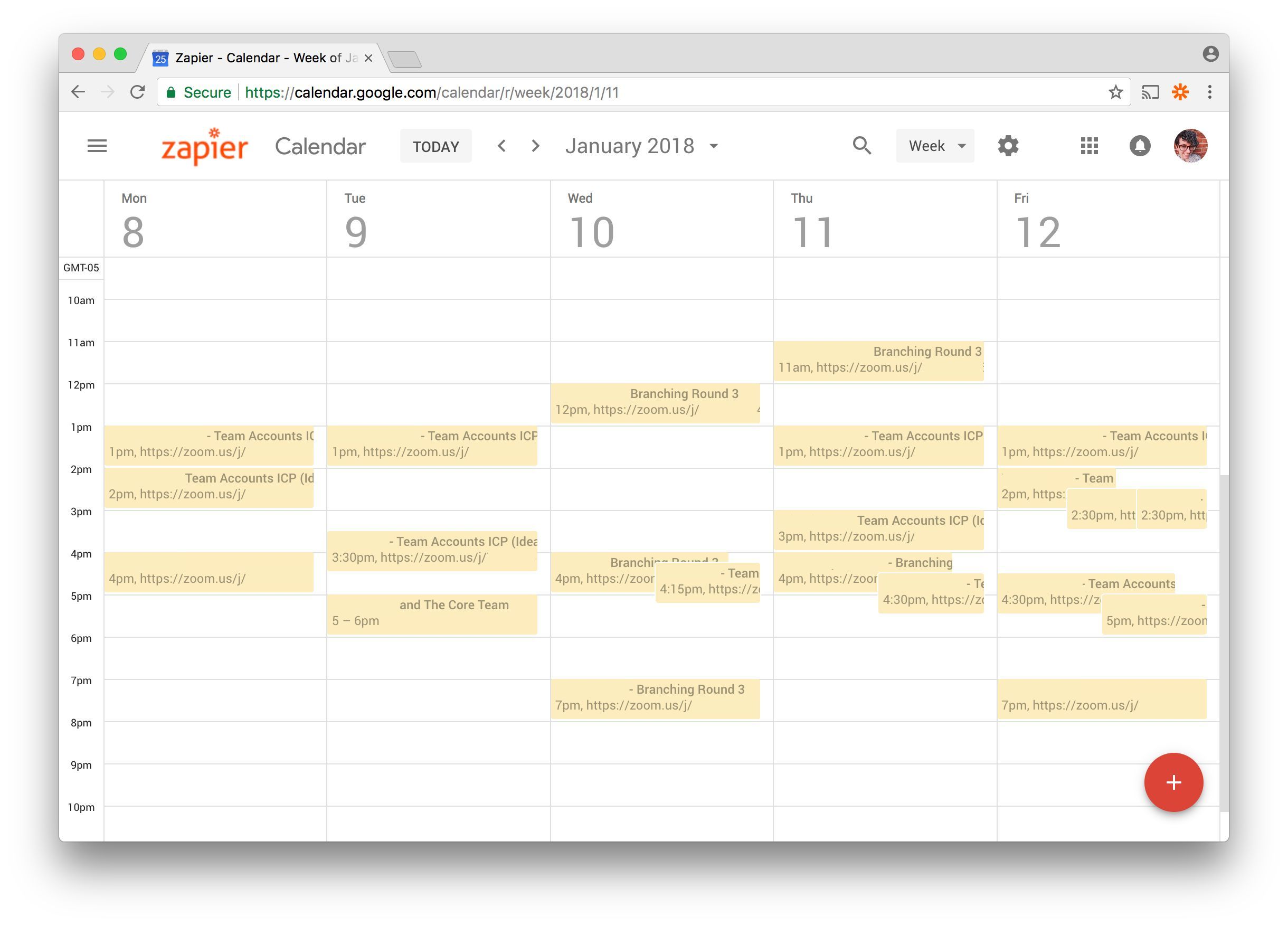 Ux Research Shared Google Calendar 012019 Ux Ibm Customer
