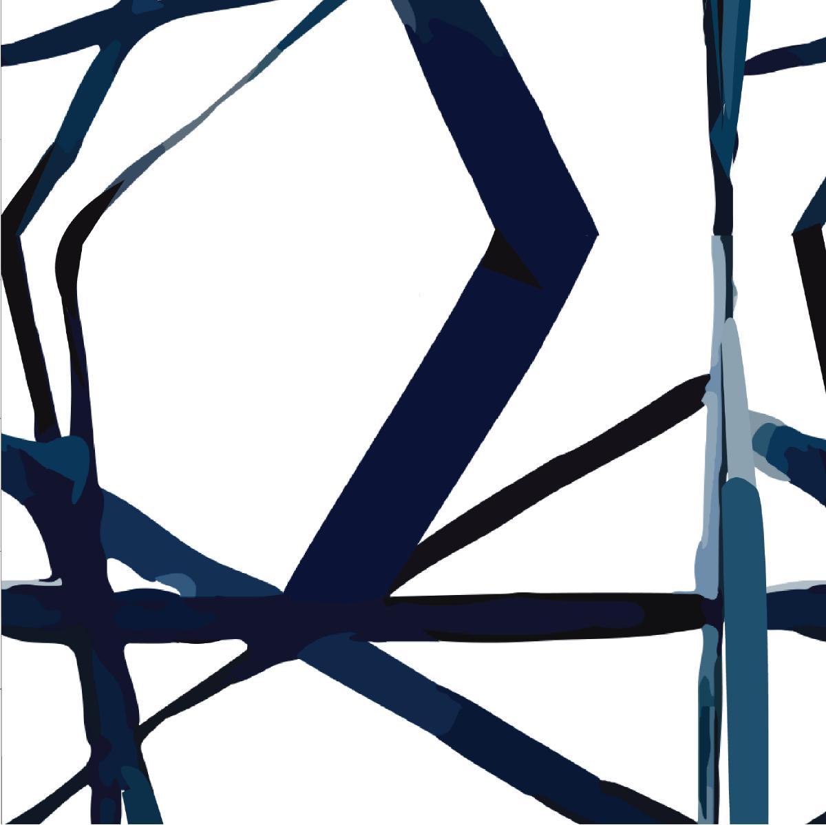 Geometric Lines Wallpaper   Katie Kime™