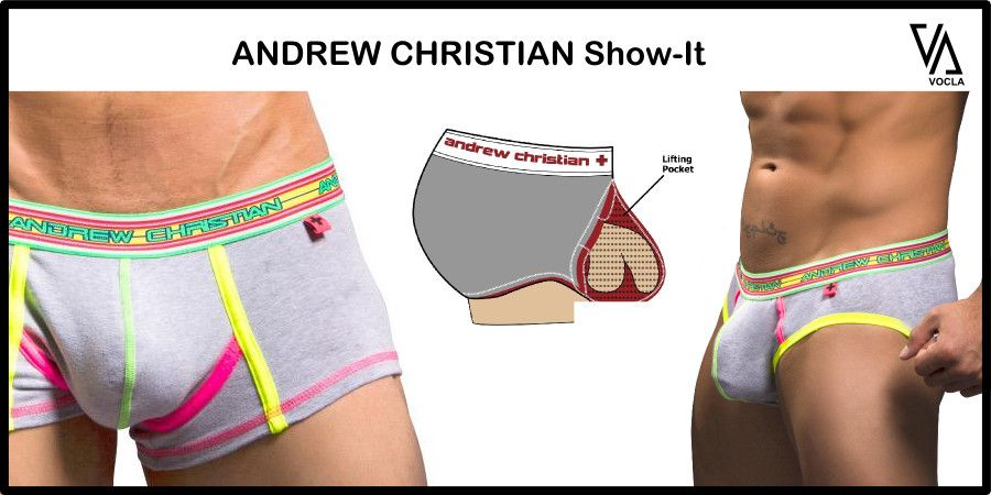 Andrew Christian Show It Push Up Underwear