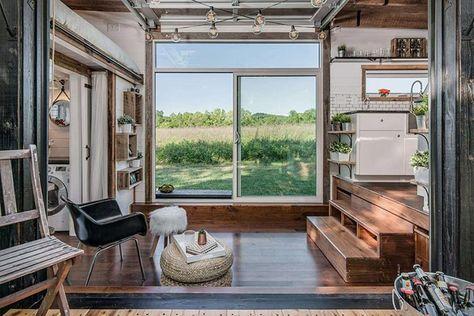 Luxus Auf Ganz Kleinem Raum The Alpha Tiny House Pinterest