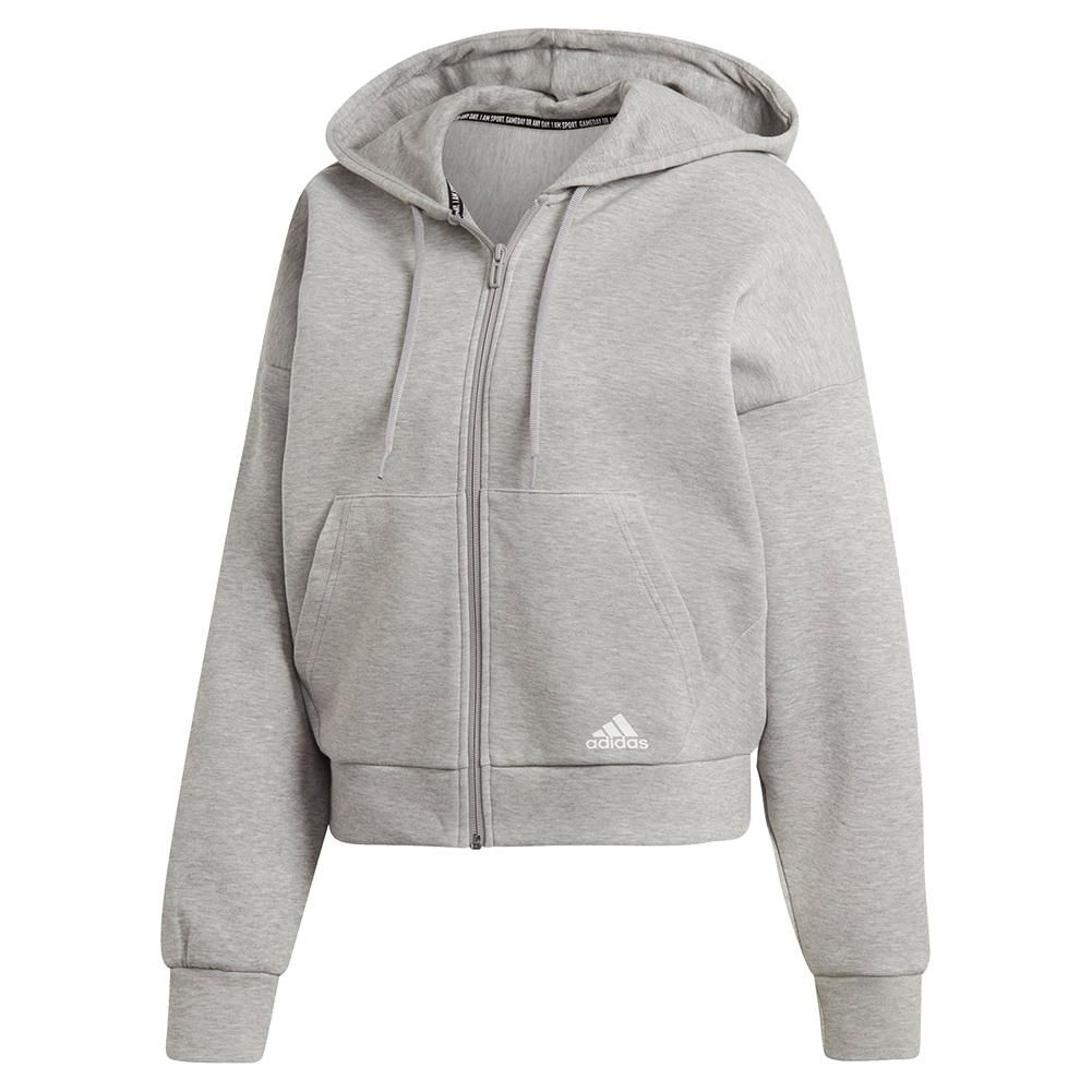 Photo of ADIDAS Women's Must Haves 3-Stripes Double-Knit Hoodie – EB3823-H19