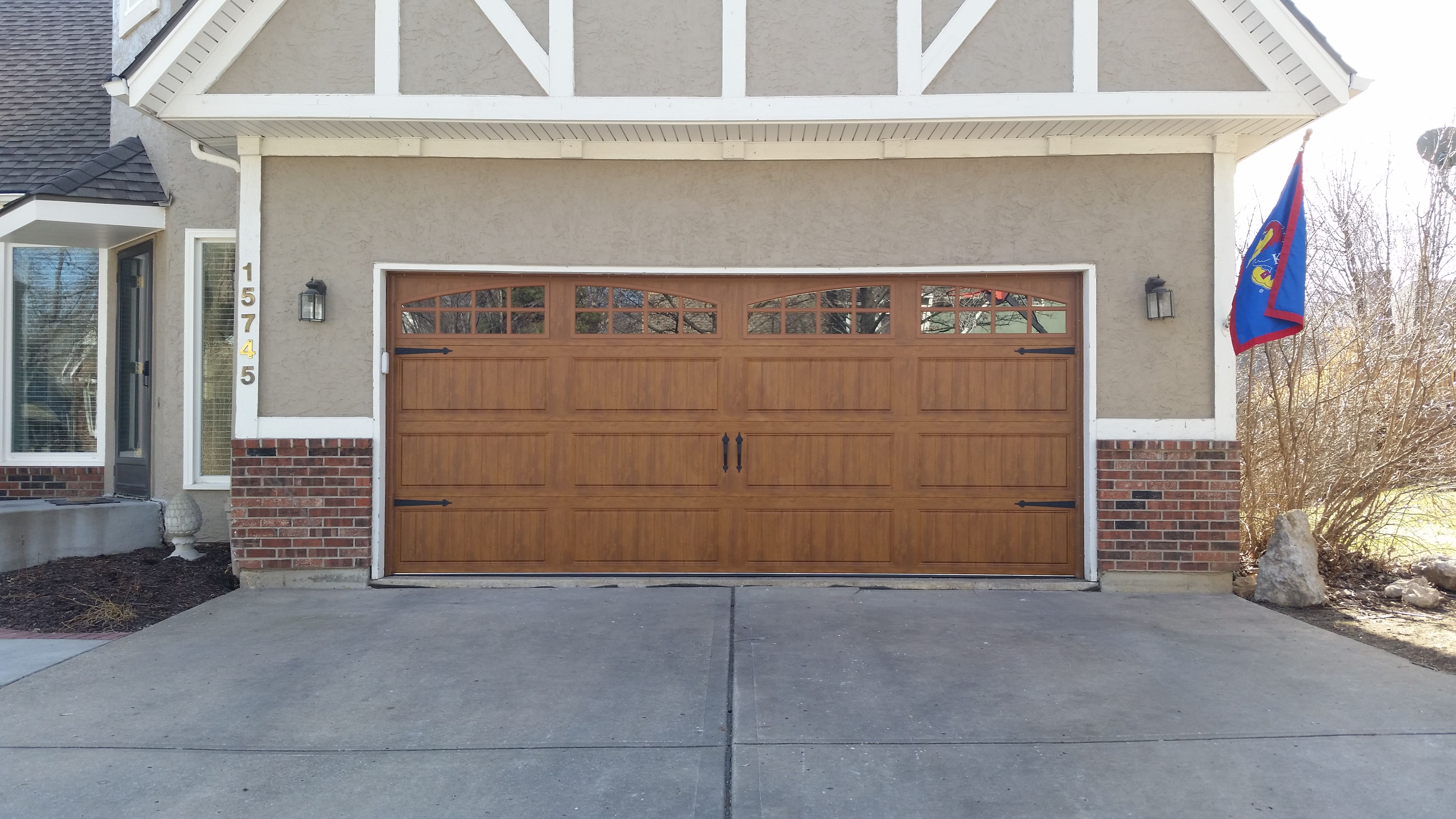 Classica northampton garage door white 9 x 8 no windows - Gallery Collection Clopay Garage Doors Carriage Style With Windows Double Ultragrain Finish Steel Insulated Garage Door