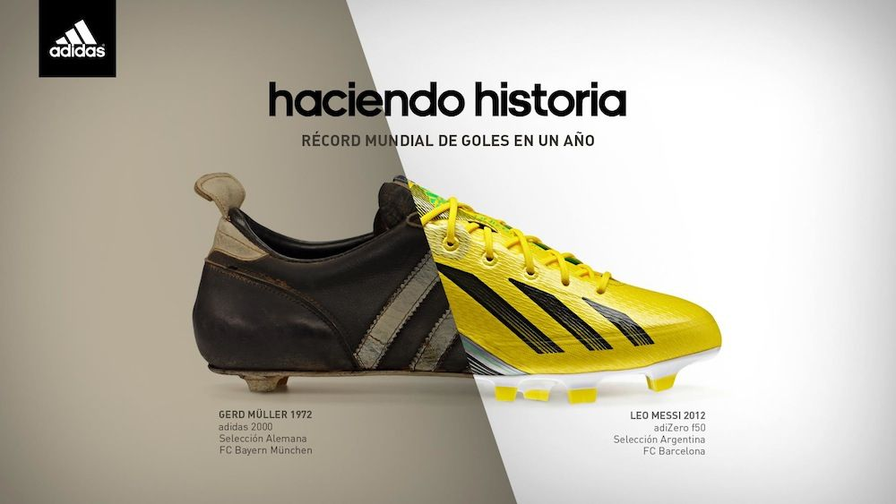 low priced 53701 256c5 Messi, Müller y Adidas.