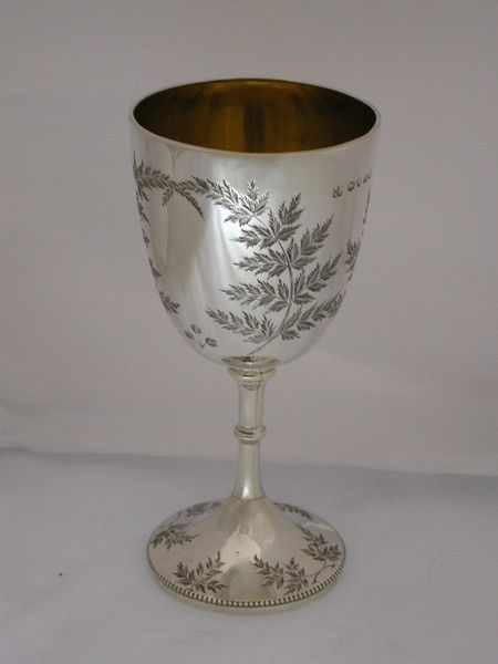 Victorian Silver Goblet