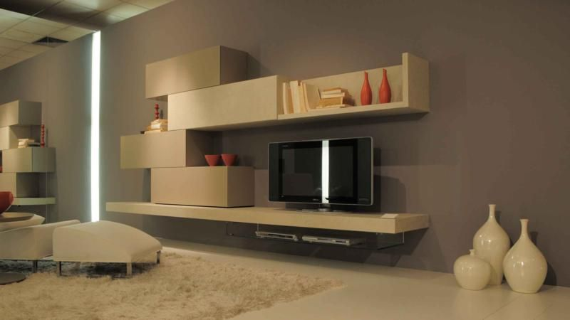 Modern Living Room With Tv Unit  Interior Design  Pinterest Fair Cabinets For Living Room Designs Inspiration Design