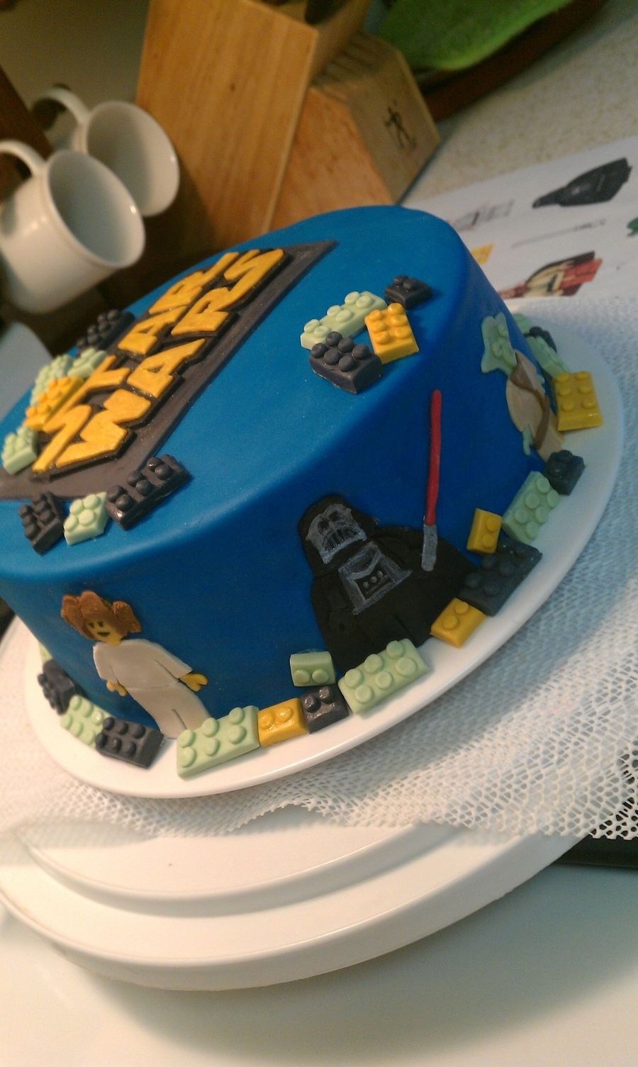 Top Lego Star Wars Cake | Cakes | Pinterest | Star wars cake, Lego  WT87
