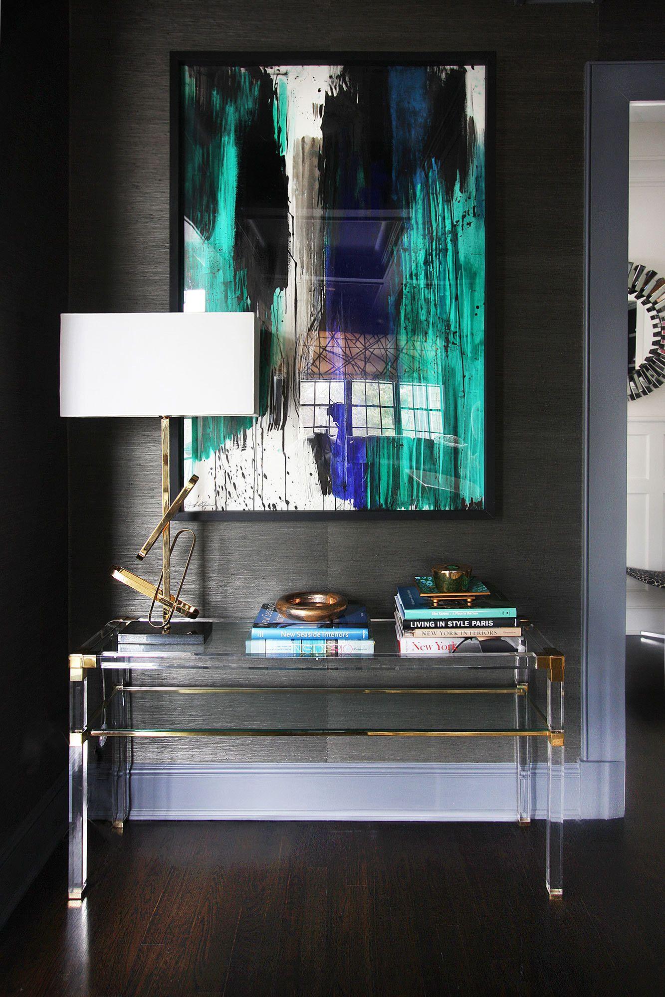 Glamour In The Suburbs. Lucite FurnitureHallway FurnitureNew ...