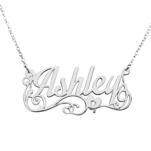 Mireval Sterling Silver Ballet Slippers Charm on a Sterling Silver Chain Necklace 16-20