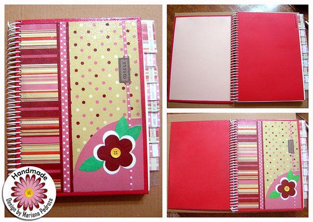Handmade Caderno Universitario Cadernos Customizados Cadernos