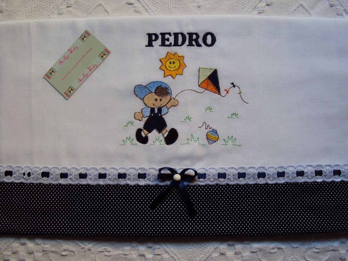 toalha fralda sem capuz 70x120 bordada e personalizada, acabamento nas pontas de tecidos 100% algodão, pode ser feito em outras cores