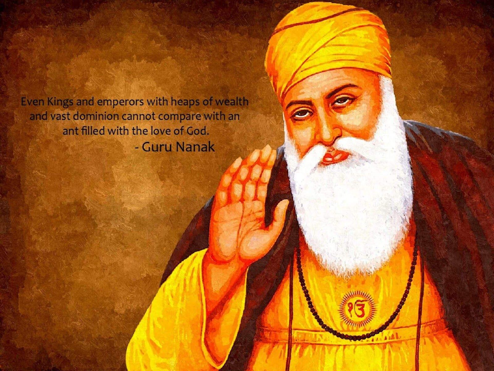 125+ Guru Nanak Dev Ji images HD, Wallpaper and Photos in