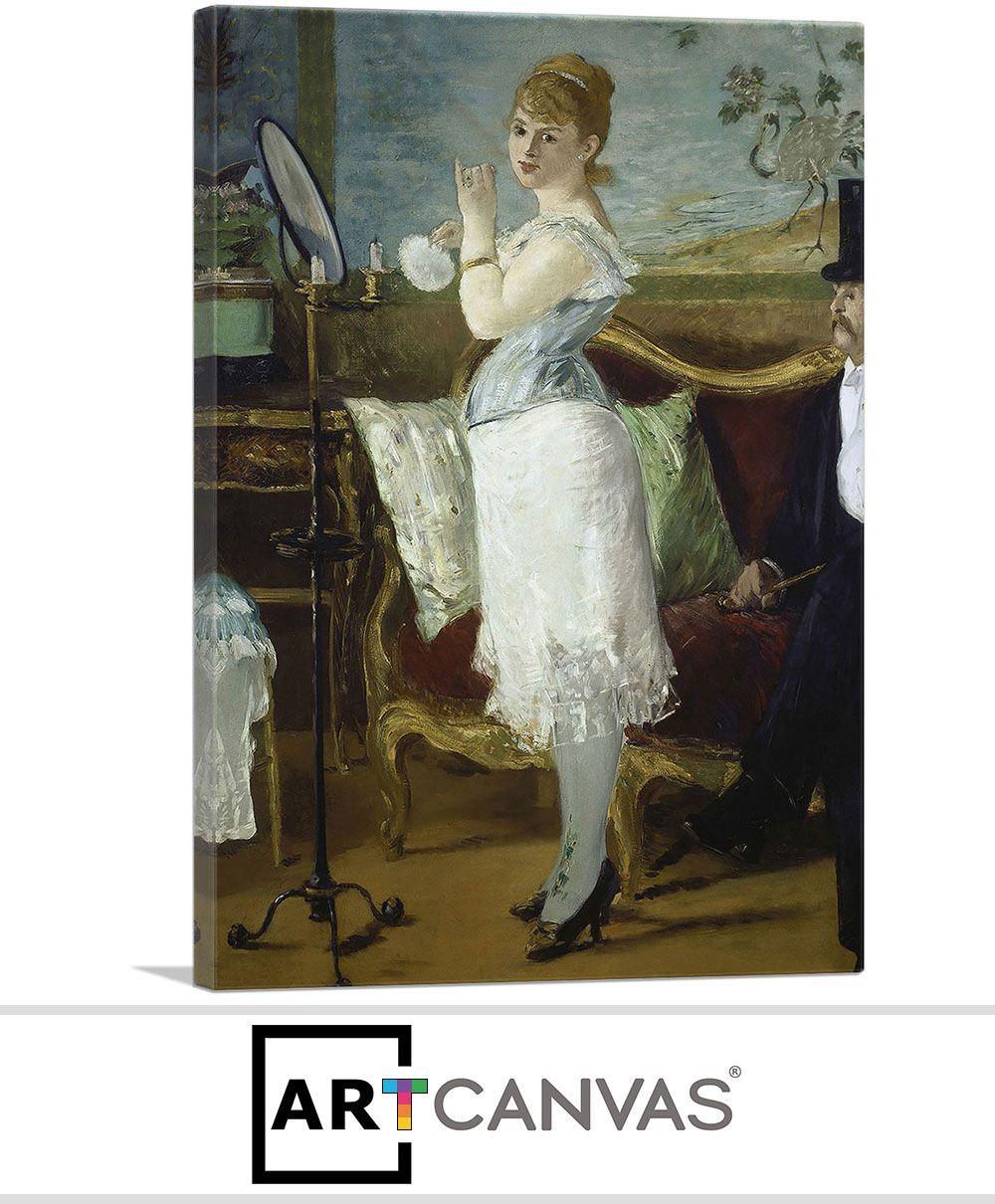 ARTCANVAS Olympia 1863 Canvas Art Print by Edouard Manet