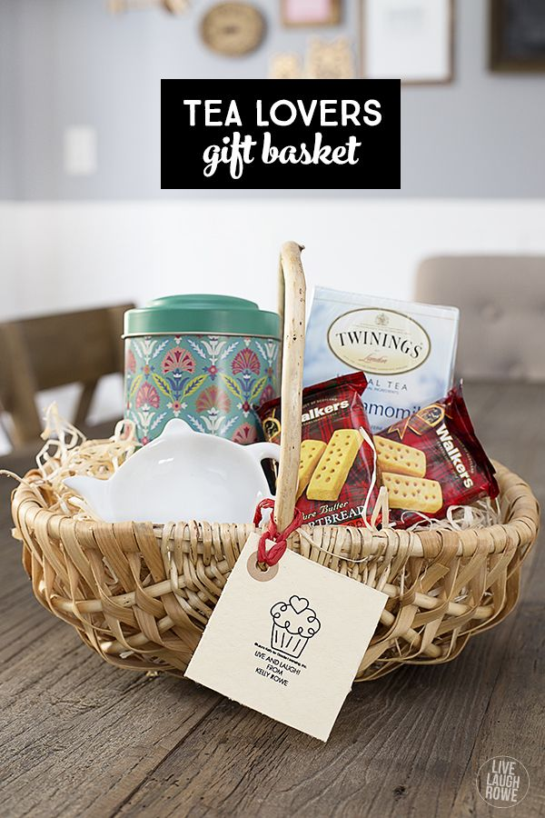 Tea gift basket for the tea lover pinterest lovers teas and gift give the gift of tea this is a fun gift for the tea lover and for less than 20 livelaughrowe solutioingenieria Images