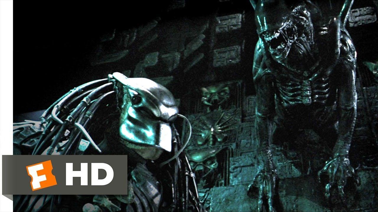 AVP: Alien vs. Predator (3/5) Movie CLIP - Marking the Hunter ...