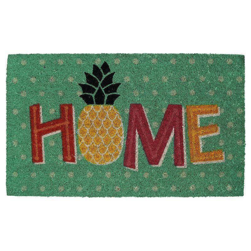 Mohawk® Home Aloha Day ''Home'' Coir Doormat - 18'' x 30'', Multicolor