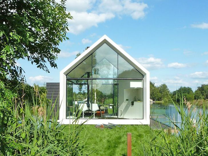Beautiful glass cabin could be the prototype for a prefab - Tiny House for  UsTiny House