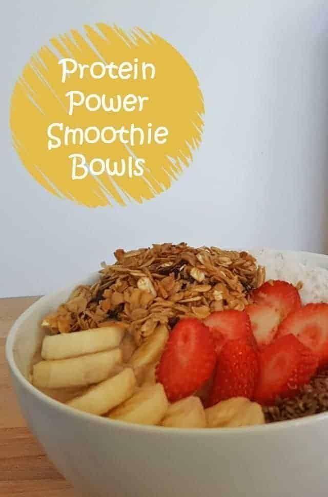 Protein Power Smoothie Bowl Recipe - Kid Friendly