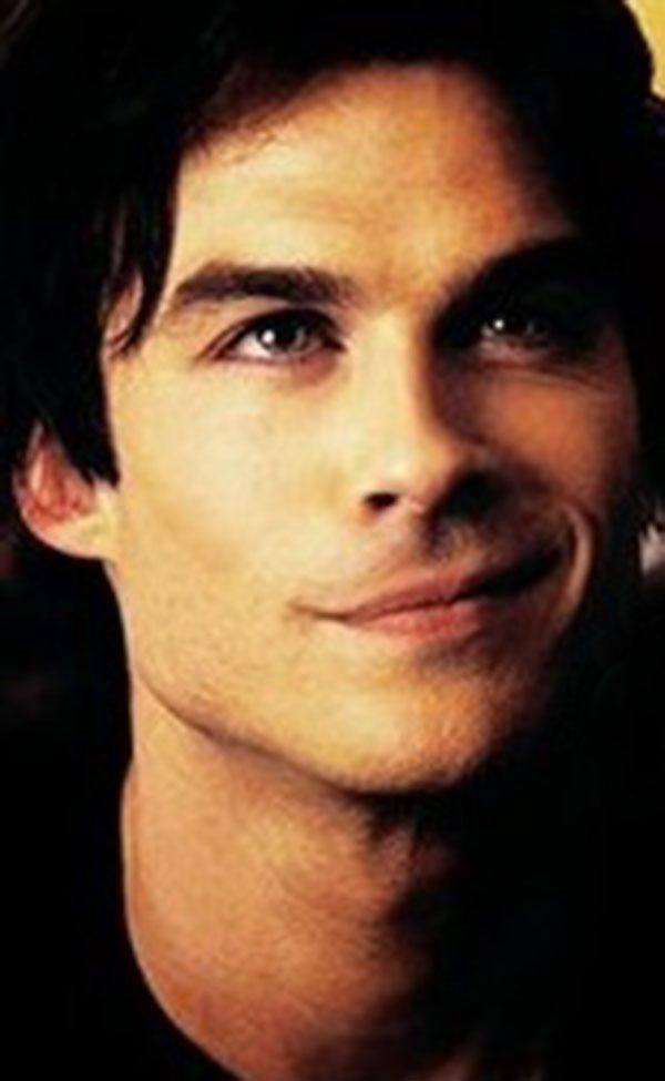 Ian Somerhalder- that sexy side smile....