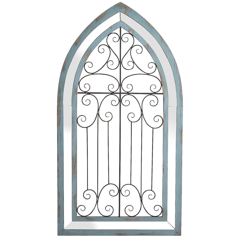 Framed Garden Gate Art Knockoffdecor Com Gate Wall Decor