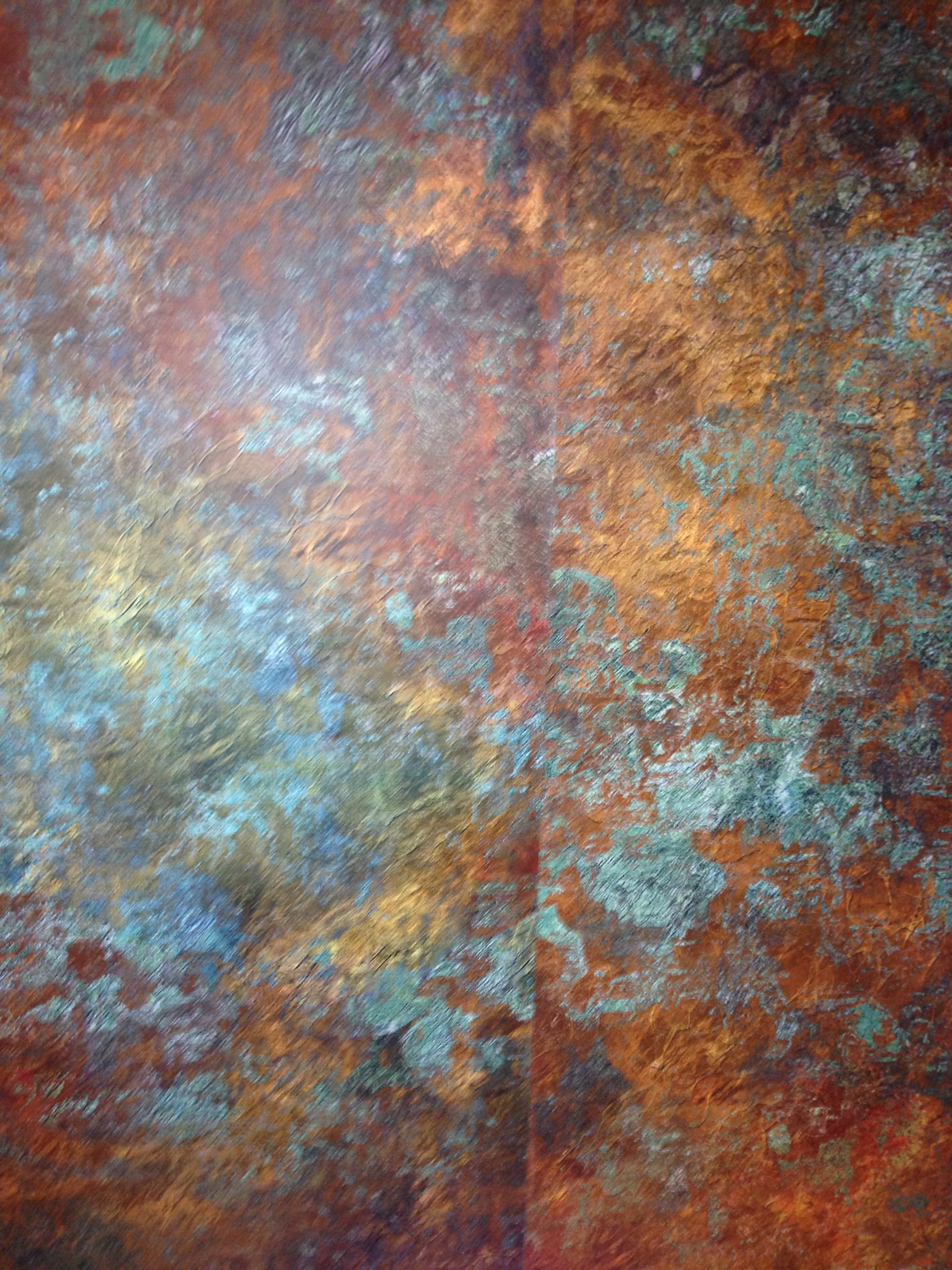 Vintage Rust Wallpaper Faux Finish Finishes Walls Painting
