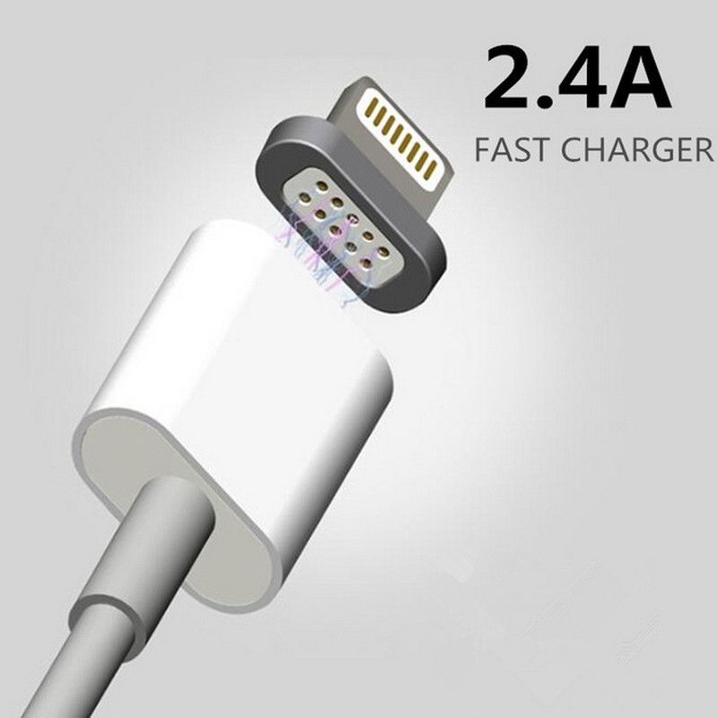 Cable Usb Para Iphone 5s Original: 2.4A Magnetic Charge Micro Usb Data Cable Charging Cable Android rh:pinterest.com,Design