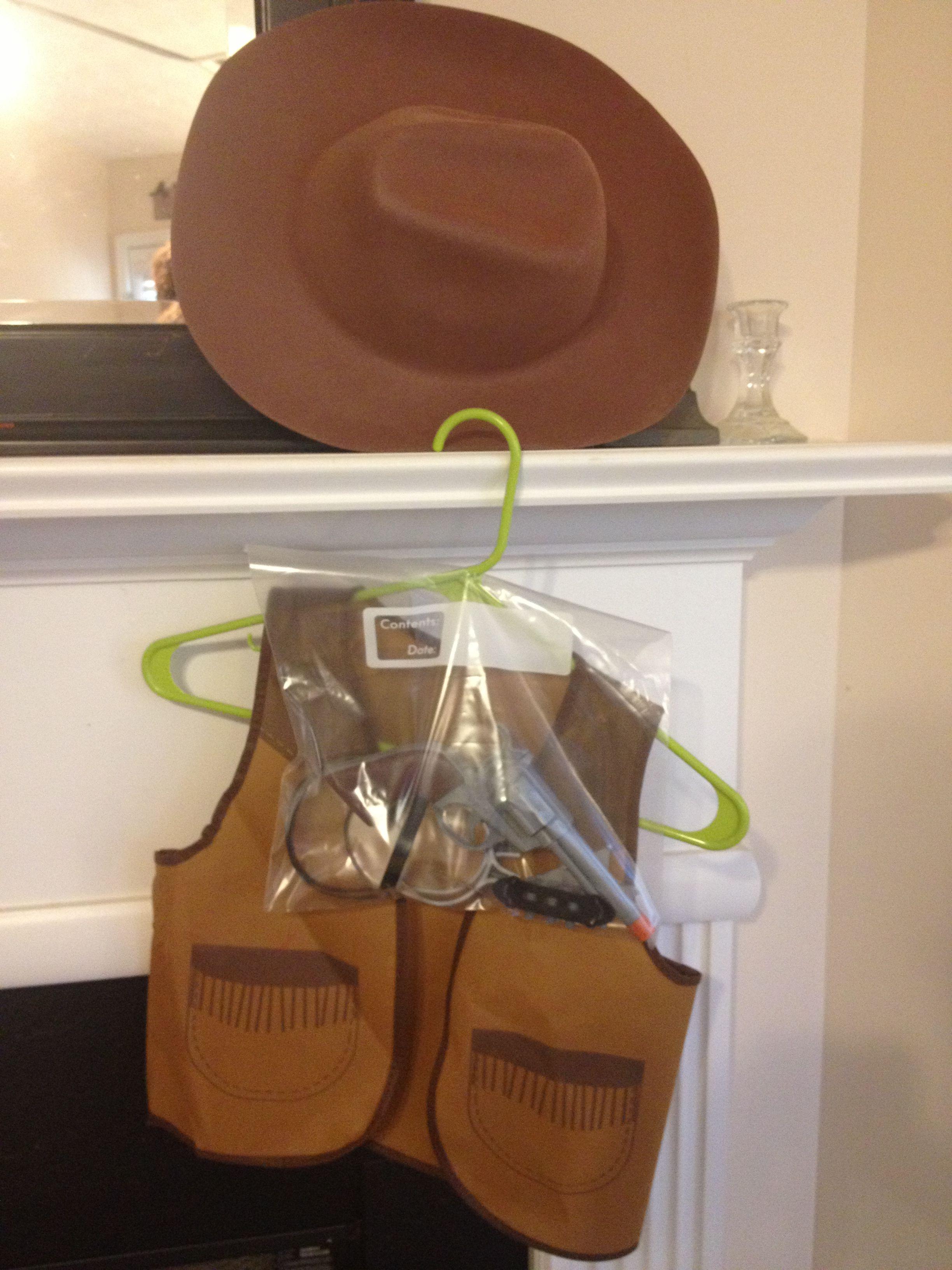Cowboy Costume -  3 - Includes  Cowboy hat 6e5de00ee218