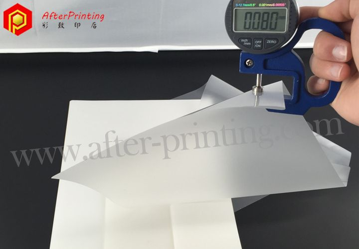 Thick Laminating Pouches Visiting Cards Name Cards Inkjet Printer