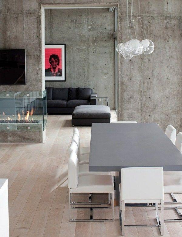 107 idées fantastiques pour une salle à manger moderne Foyers - wohnideen wohnzimmer moderne